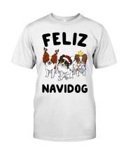 Feliz Navidog Papillon Christmas SHIRT Classic T-Shirt thumbnail