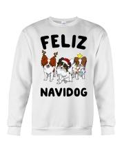 Feliz Navidog Papillon Christmas SHIRT Crewneck Sweatshirt front