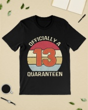 Officially a 13 quaranteen vintage T-shirt Classic T-Shirt lifestyle-mens-crewneck-front-19