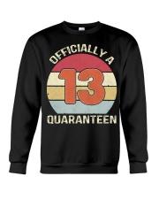 Officially a 13 quaranteen vintage T-shirt Crewneck Sweatshirt thumbnail