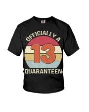 Officially a 13 quaranteen vintage T-shirt Youth T-Shirt tile