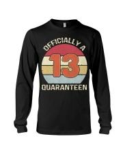 Officially a 13 quaranteen vintage T-shirt Long Sleeve Tee thumbnail
