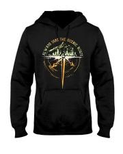 Bigfoot always take the scenic route shirt Hooded Sweatshirt thumbnail