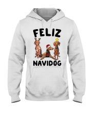 Feliz Navidog Vizsla Christmas Hooded Sweatshirt thumbnail