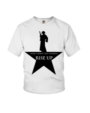 Princess Leia Here comes the general Rise up shirt Youth T-Shirt thumbnail