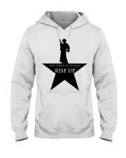 Princess Leia Here comes the general Rise up shirt Hooded Sweatshirt thumbnail