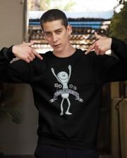 Existence is pain meme shirt Crewneck Sweatshirt apparel-crewneck-sweatshirt-lifestyle-04