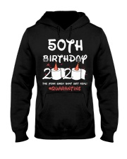50th birthday 2020 the year when shit got real  Hooded Sweatshirt thumbnail