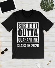 Straight Outta Quarantine Class of 2020 T-shirt Classic T-Shirt lifestyle-mens-crewneck-front-17