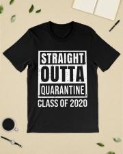 Straight Outta Quarantine Class of 2020 T-shirt Classic T-Shirt lifestyle-mens-crewneck-front-19