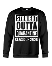Straight Outta Quarantine Class of 2020 T-shirt Crewneck Sweatshirt tile