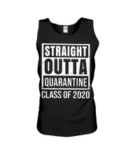 Straight Outta Quarantine Class of 2020 T-shirt Unisex Tank tile