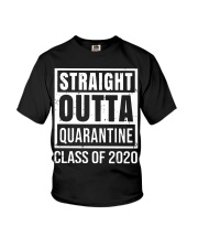 Straight Outta Quarantine Class of 2020 T-shirt Youth T-Shirt tile