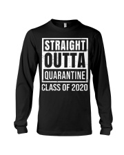 Straight Outta Quarantine Class of 2020 T-shirt Long Sleeve Tee thumbnail