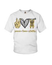 Peace love sloths shirt Youth T-Shirt thumbnail