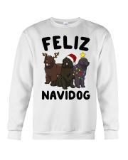 Feliz Navidog Newfoundland Christmas shirt Crewneck Sweatshirt front