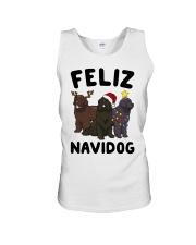 Feliz Navidog Newfoundland Christmas shirt Unisex Tank thumbnail