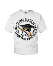 Senior class of 2020 the class that made history  Youth T-Shirt thumbnail