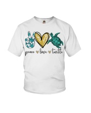 Peace Love Turtle shirt Youth T-Shirt thumbnail