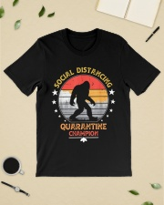 Bigfoot Social Distancing Quarantine Champion  Classic T-Shirt lifestyle-mens-crewneck-front-19