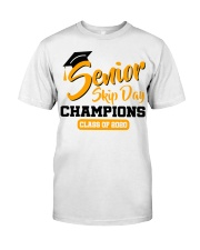 Senior skip day champions class of 2020 orange Classic T-Shirt front