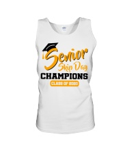 Senior skip day champions class of 2020 orange Unisex Tank thumbnail