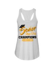 Senior skip day champions class of 2020 orange Ladies Flowy Tank thumbnail