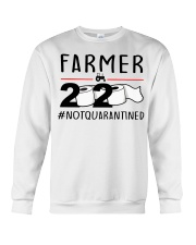 Farmer 2020 not quarantined T-shirt Crewneck Sweatshirt thumbnail