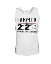 Farmer 2020 not quarantined T-shirt Unisex Tank thumbnail