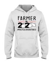 Farmer 2020 not quarantined T-shirt Hooded Sweatshirt thumbnail