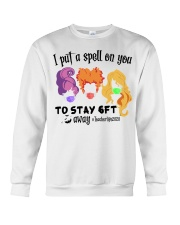 I Put A Spell On You To Stay 6ft Away Hocus  Crewneck Sweatshirt thumbnail