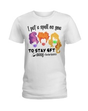I Put A Spell On You To Stay 6ft Away Hocus  Ladies T-Shirt thumbnail