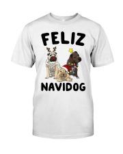 Feliz Navidog Shar Pei Christmas shirt Classic T-Shirt thumbnail