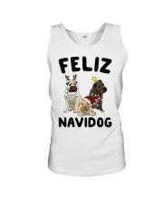 Feliz Navidog Shar Pei Christmas shirt Unisex Tank thumbnail