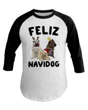 Feliz Navidog Shar Pei Christmas shirt Baseball Tee thumbnail