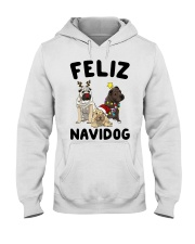 Feliz Navidog Shar Pei Christmas shirt Hooded Sweatshirt thumbnail