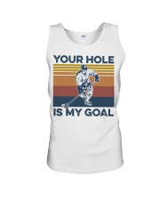 Hockey your hole is my goal vintage t-shirt Unisex Tank thumbnail