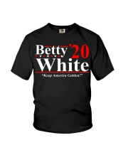 Betty White 2020 Keep America Golden shirt Youth T-Shirt thumbnail