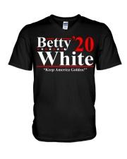 Betty White 2020 Keep America Golden shirt V-Neck T-Shirt thumbnail