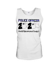 Police officer 2020 Not Quarantined T-shirt Unisex Tank thumbnail