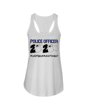 Police officer 2020 Not Quarantined T-shirt Ladies Flowy Tank thumbnail