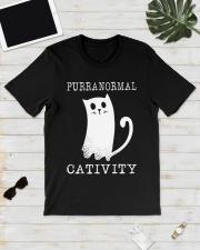 Cat Purranormal Cativity Shirt Classic T-Shirt lifestyle-mens-crewneck-front-17
