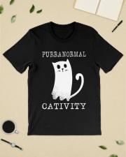 Cat Purranormal Cativity Shirt Classic T-Shirt lifestyle-mens-crewneck-front-19