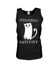 Cat Purranormal Cativity Shirt Unisex Tank thumbnail