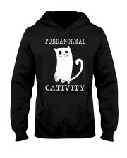 Cat Purranormal Cativity Shirt Hooded Sweatshirt thumbnail