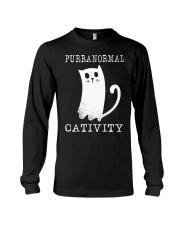 Cat Purranormal Cativity Shirt Long Sleeve Tee thumbnail