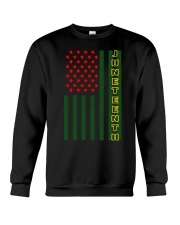Juneteenth Flag shirt Crewneck Sweatshirt thumbnail