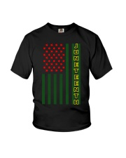 Juneteenth Flag shirt Youth T-Shirt thumbnail