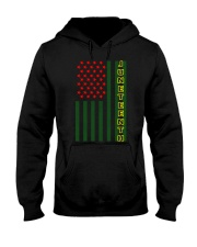 Juneteenth Flag shirt Hooded Sweatshirt thumbnail