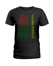 Juneteenth Flag shirt Ladies T-Shirt thumbnail